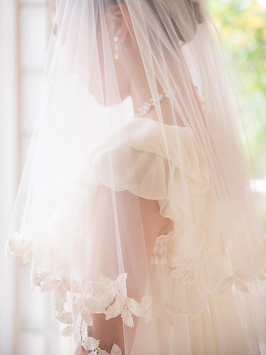 ウェディングドレス レンタル プレタ オーダー | ドレスマニア 森ガールな花嫁、グリーンの多いリゾートウエディングに