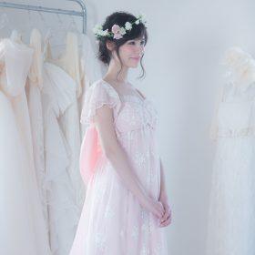 ドレスマニア自由が丘アトリエ ウェディングドレスのレンタル、プレタポルテ、オーダー... お気に入りのドレスを見つけるウェディングドレス Sakura