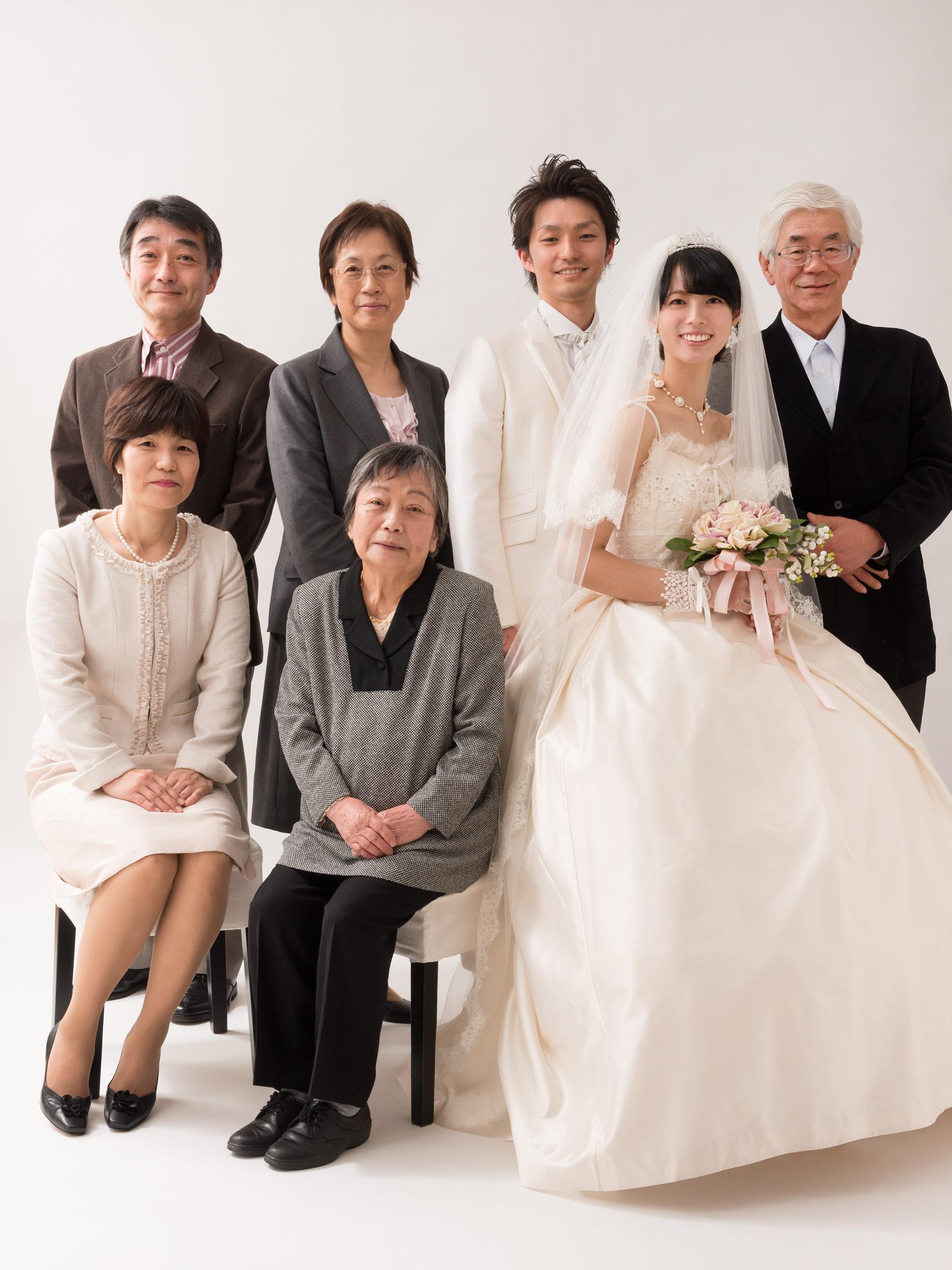 ドレスマニアブログ 家族 ウェディング写真 ポートレート