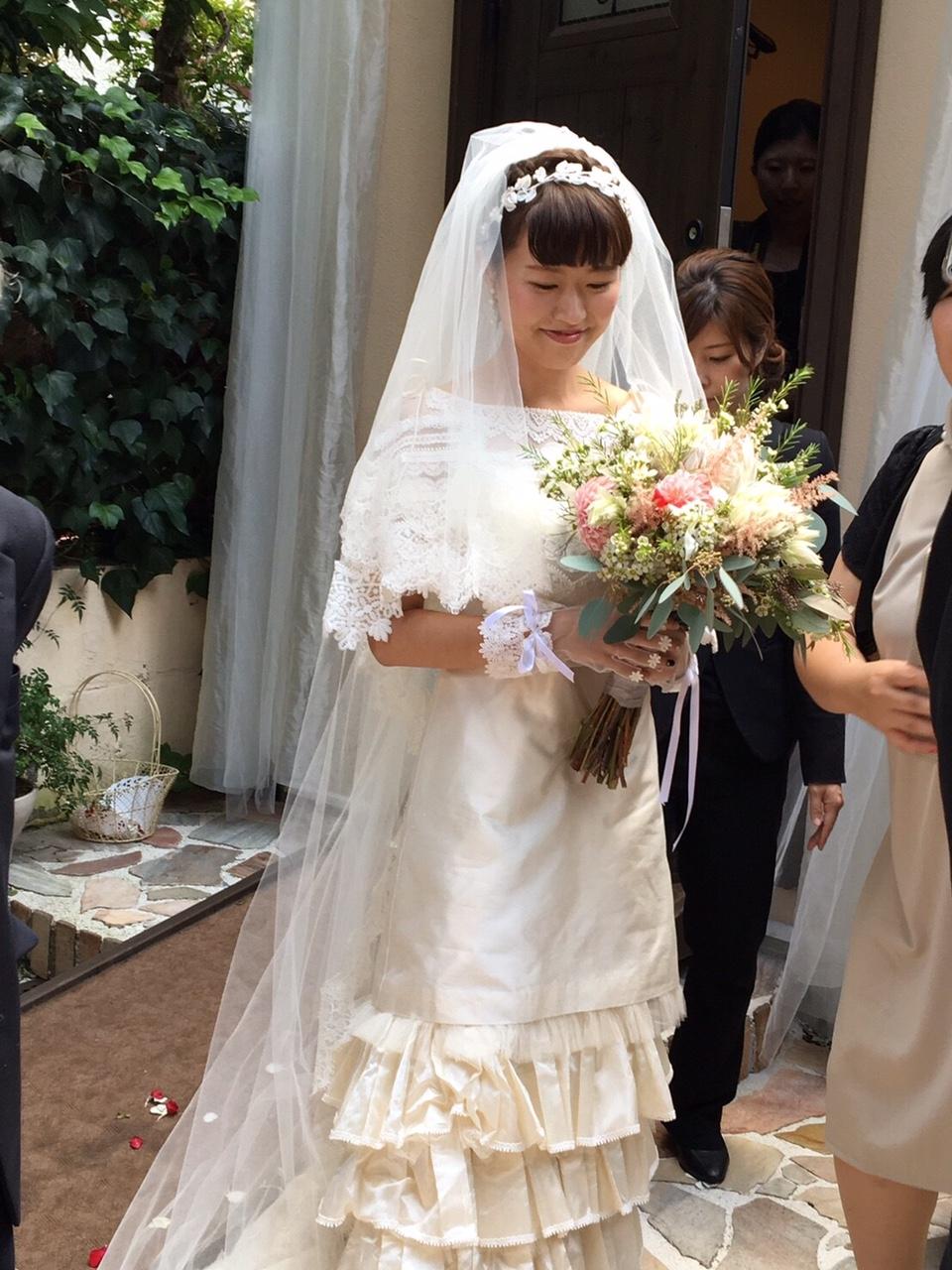 素敵な先輩花嫁様『クラシカルモダンなドレスで叶えたクラシカル