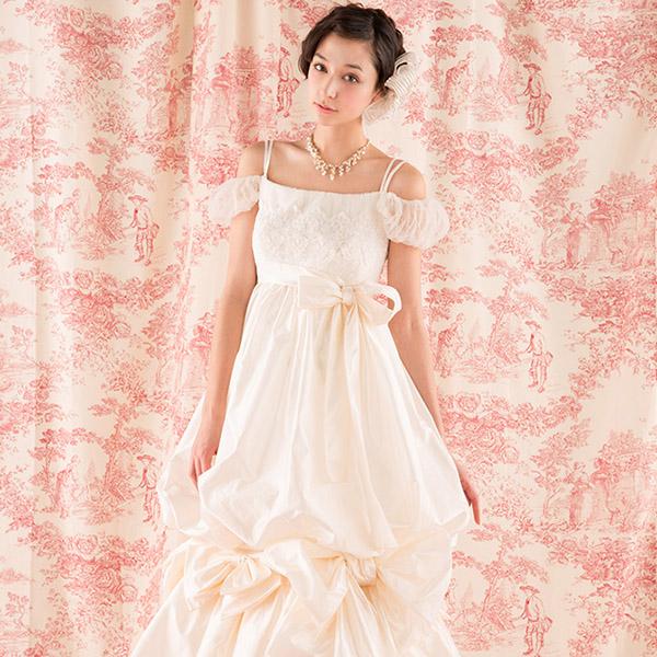ドレスマニア ウェディングドレス レンタル プレタ オーダー N0018