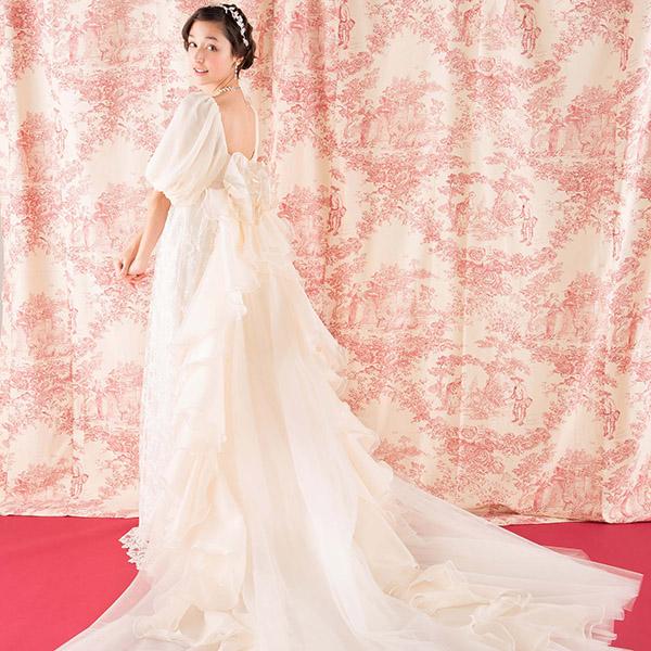 ドレスマニア ウェディングドレス レンタル プレタ オーダー N0027