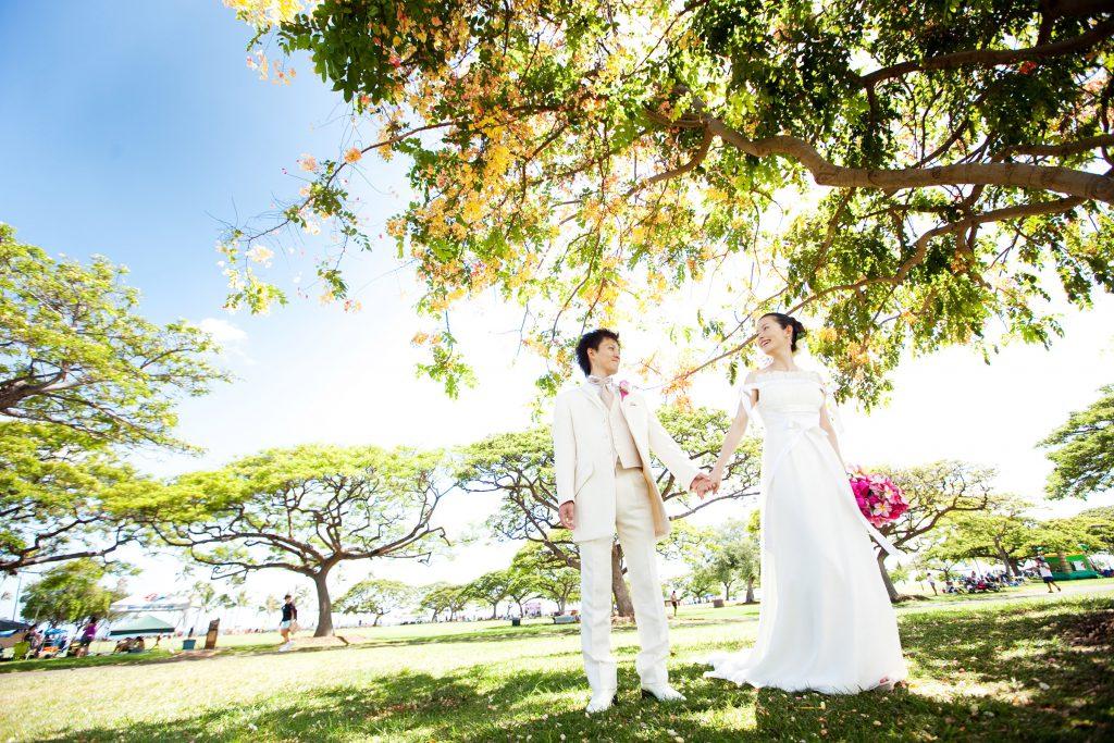 ウェディングドレス レンタル プレタ オーダー | ドレスマニア ブログ 素敵な先輩花嫁様 Dress Mania ハワイ 海外ウェディング