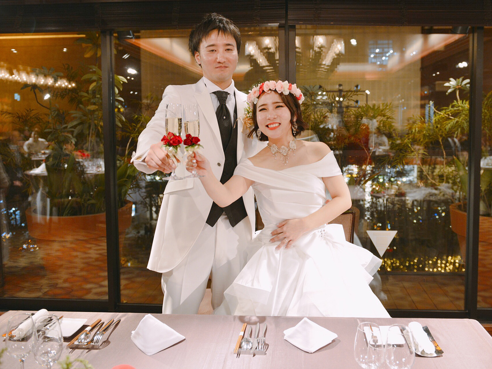 ドレスマニア 素敵な先輩花嫁