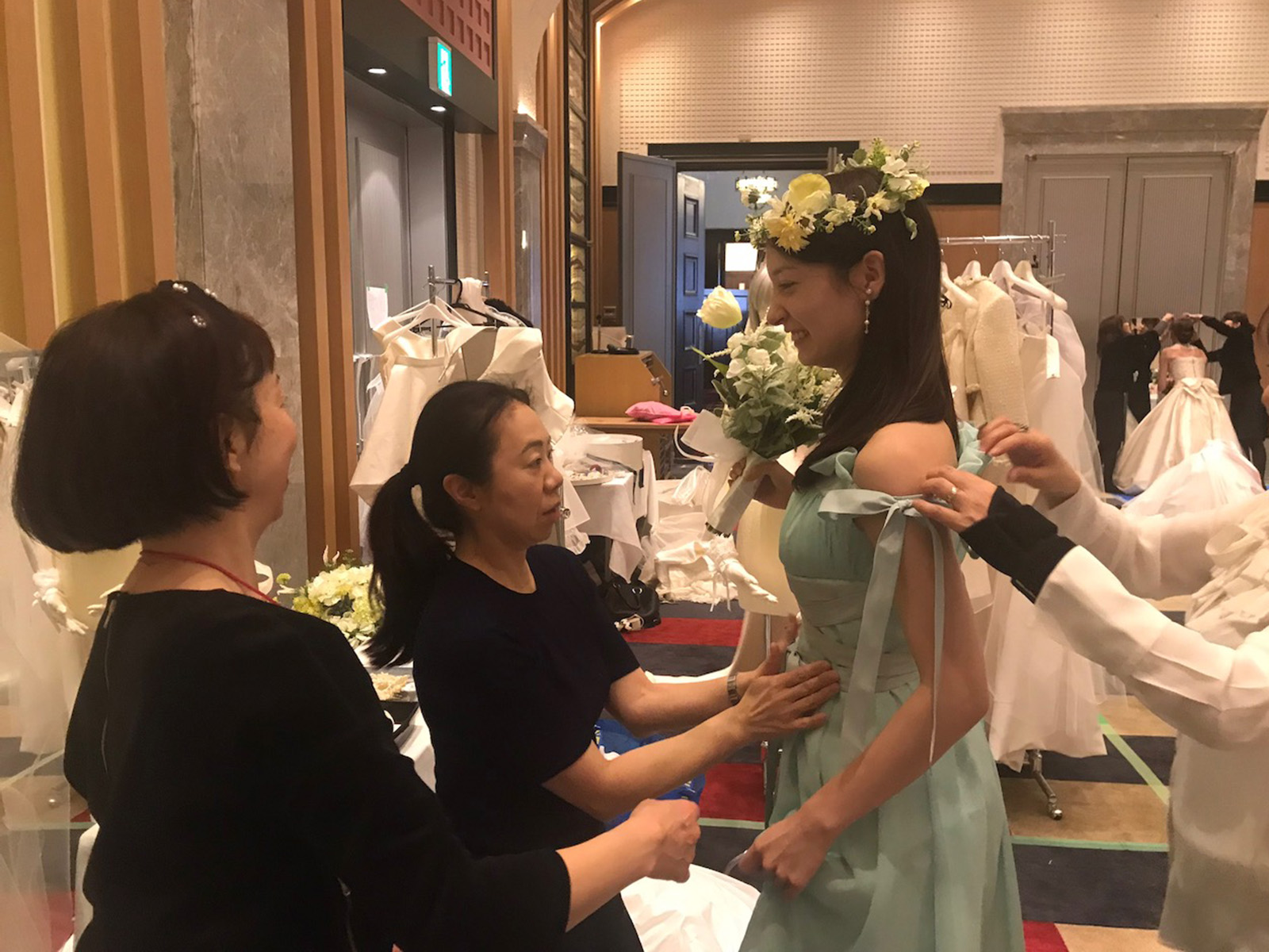 ドレスマニア ブログ スペシャルドレスショー 学士会館