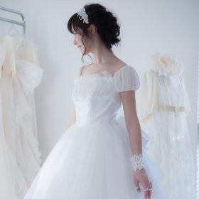ドレスマニア自由が丘アトリエ ウェディングドレスのレンタル、プレタポルテ、オーダー... お気に入りのドレスを見つけるウェディングドレス Sylphide